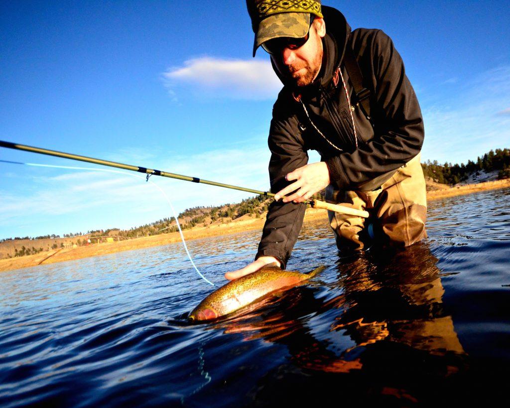Missouri River Winter Fishing Report 11.8.15