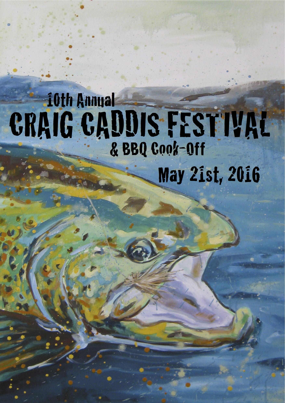 10th Annual Craig Caddis Festival & BBQ Cook-Off