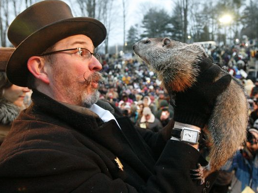 Punxsutawney Phil sees early Spring