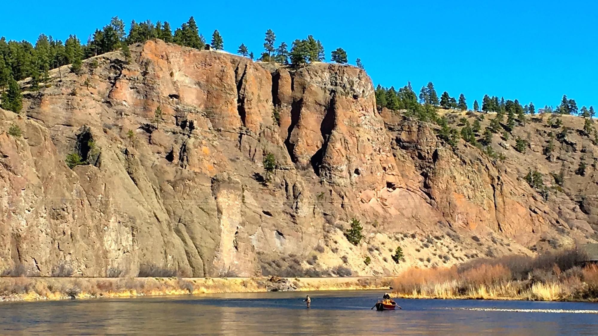 St Patty's Day Missouri River Montana Fishing Report