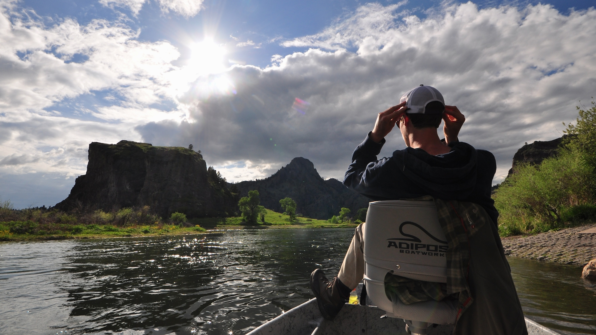 March missouri river fly fishing forecast headhunters for Best fishing in missouri