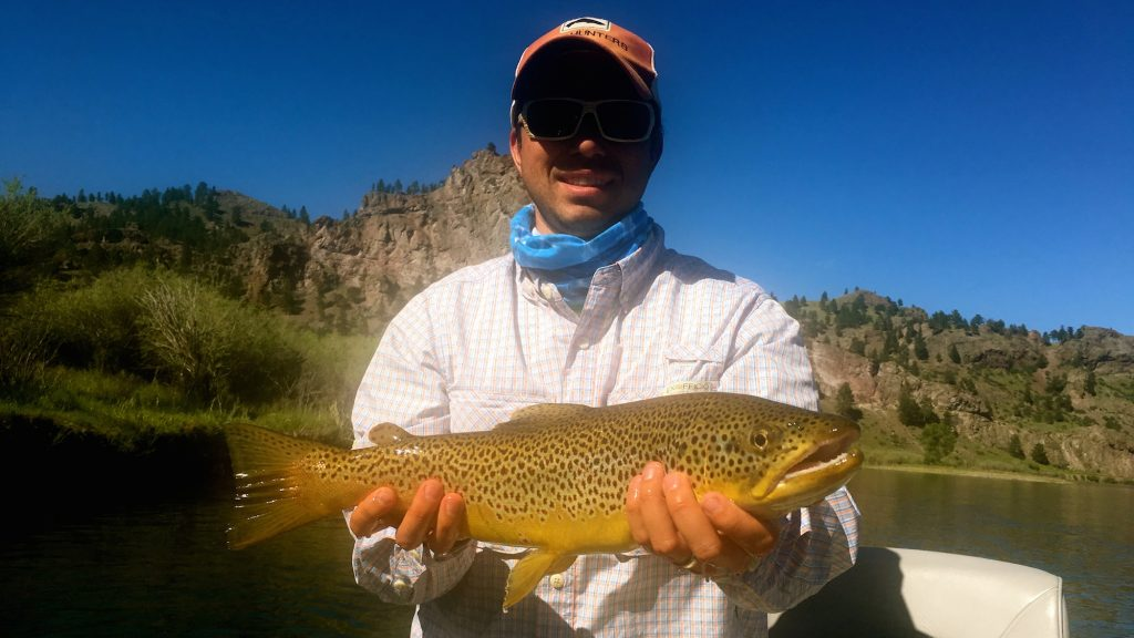 Missouri river fly fishing report montana for Missouri trout fishing
