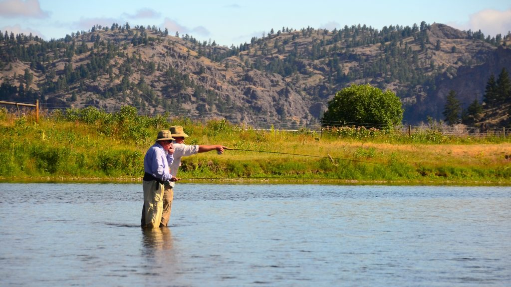 Mid july missouri river fishing report headhunters fly shop for Missouri fishing report