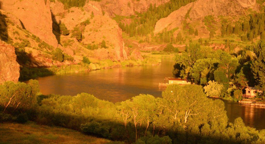 Late July Missouri River Fishing Report