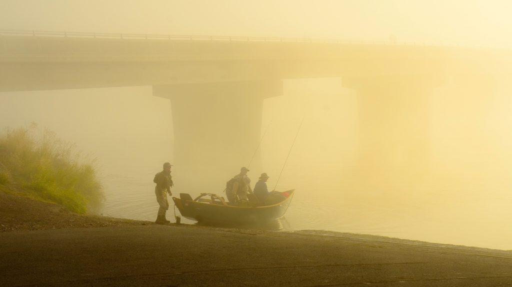 Friday Missouri River Fog Foto