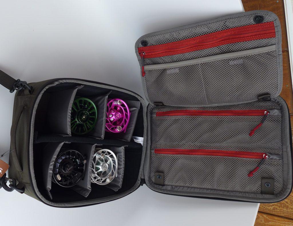 SIMMS Bounty Hunter Reel Bag Headhunters Fly Shop