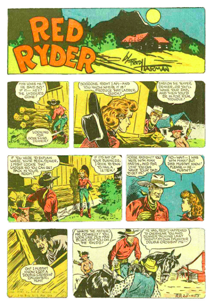 Red Ryder Comic
