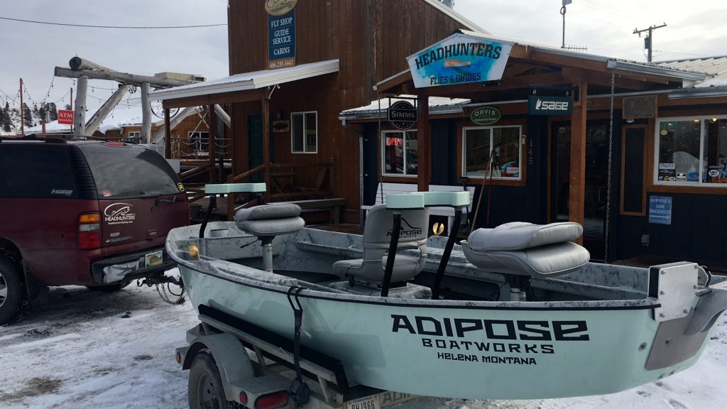 New Boat Smell Headhunters Fly Shop