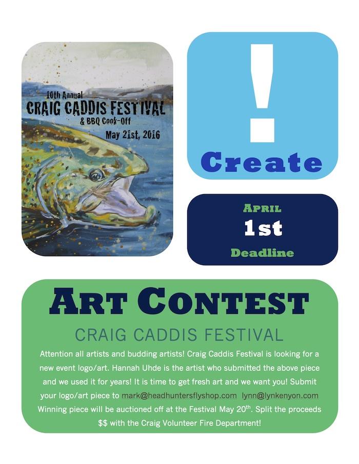 Craig Caddis Festival Art Contest