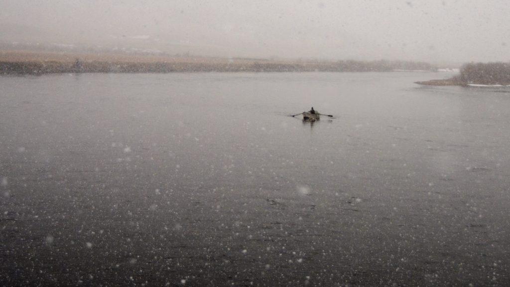 Thursday Snow on the Mighty Mo!