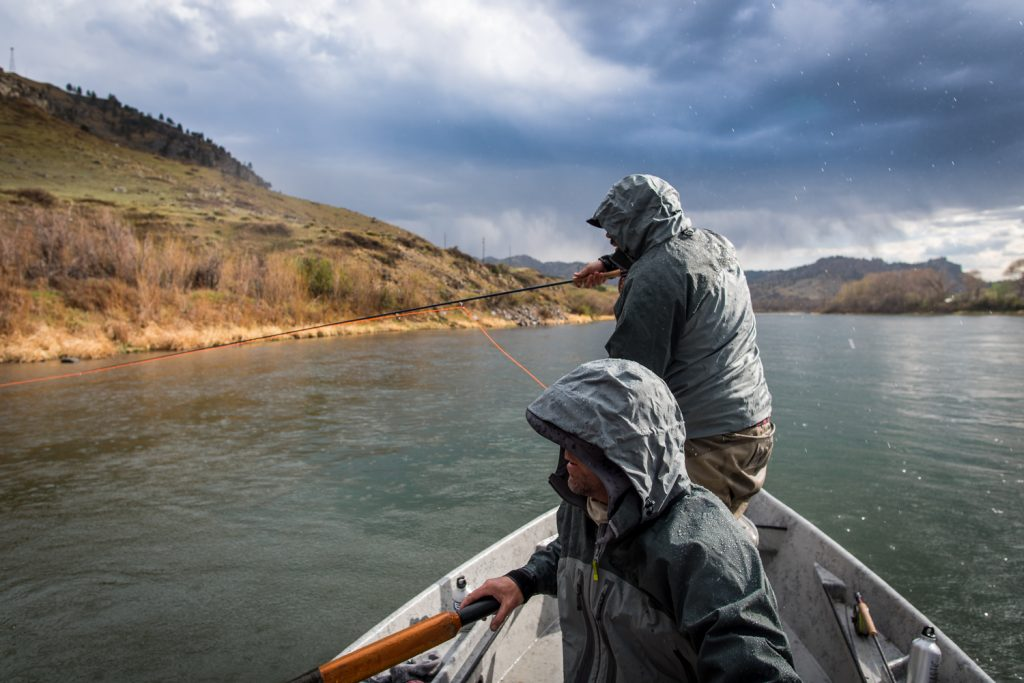 Missouri river fly fishing report montana for Best weather for fishing