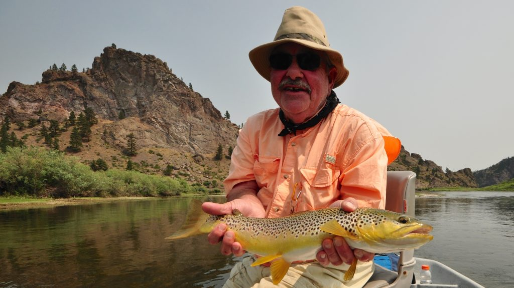 A father 39 s advice to us all headhunters fly shop for Missouri river fly fishing