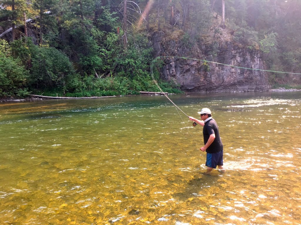 Headhunters Fly Shop Late August Blackfoot River Fishing Report