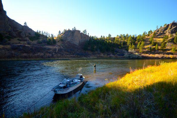 Missouri River Montana Fishing Report 9 13 14