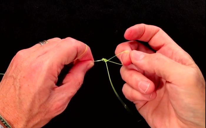 Three fly fishing loop knots, how to tie them, how to join them