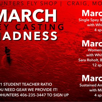 March SPEY CASTING Madness