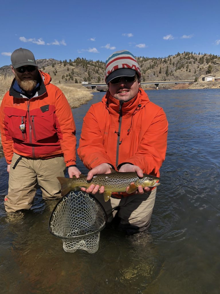 Late March Missouri River Fly Fishing Report