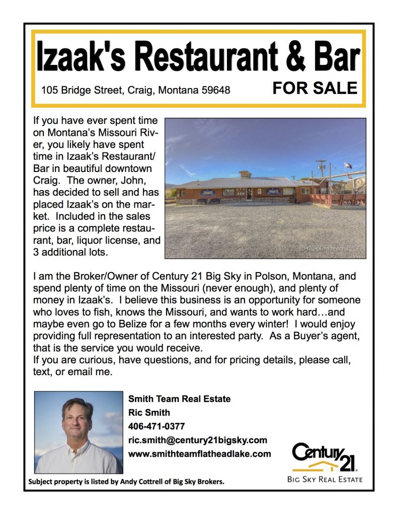 Izaaks of Craig For Sale