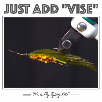 Just Add Vise Zirdle Bug Tying Kit