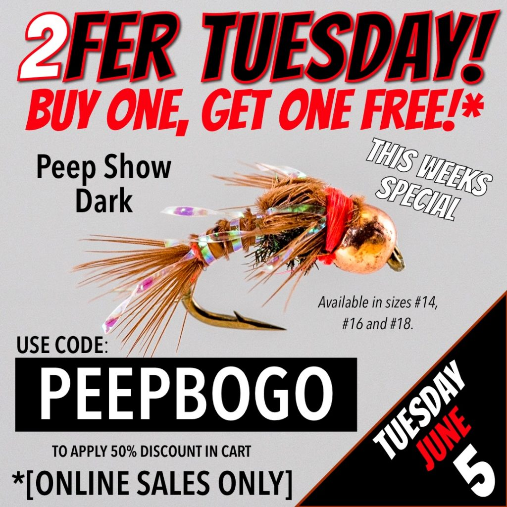 2FER TUESDAY BOGO Peep Show Dark