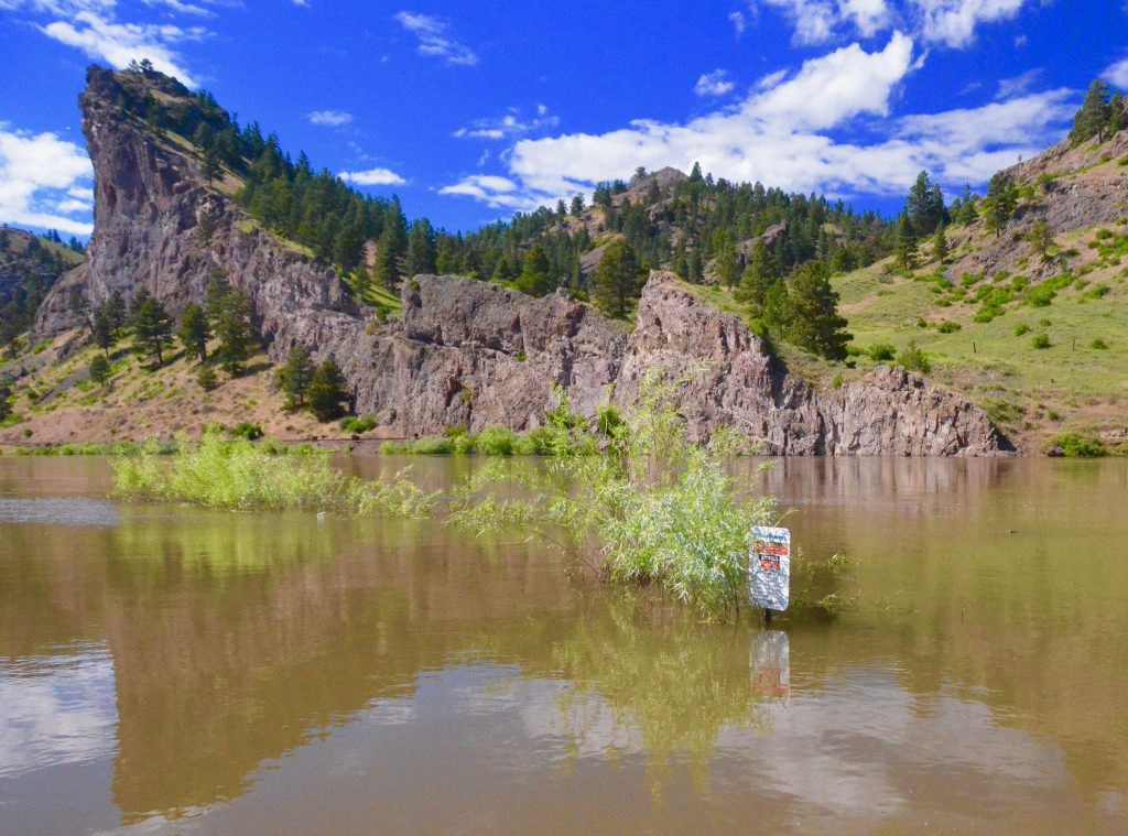 The water is falling for Dry Fly Season