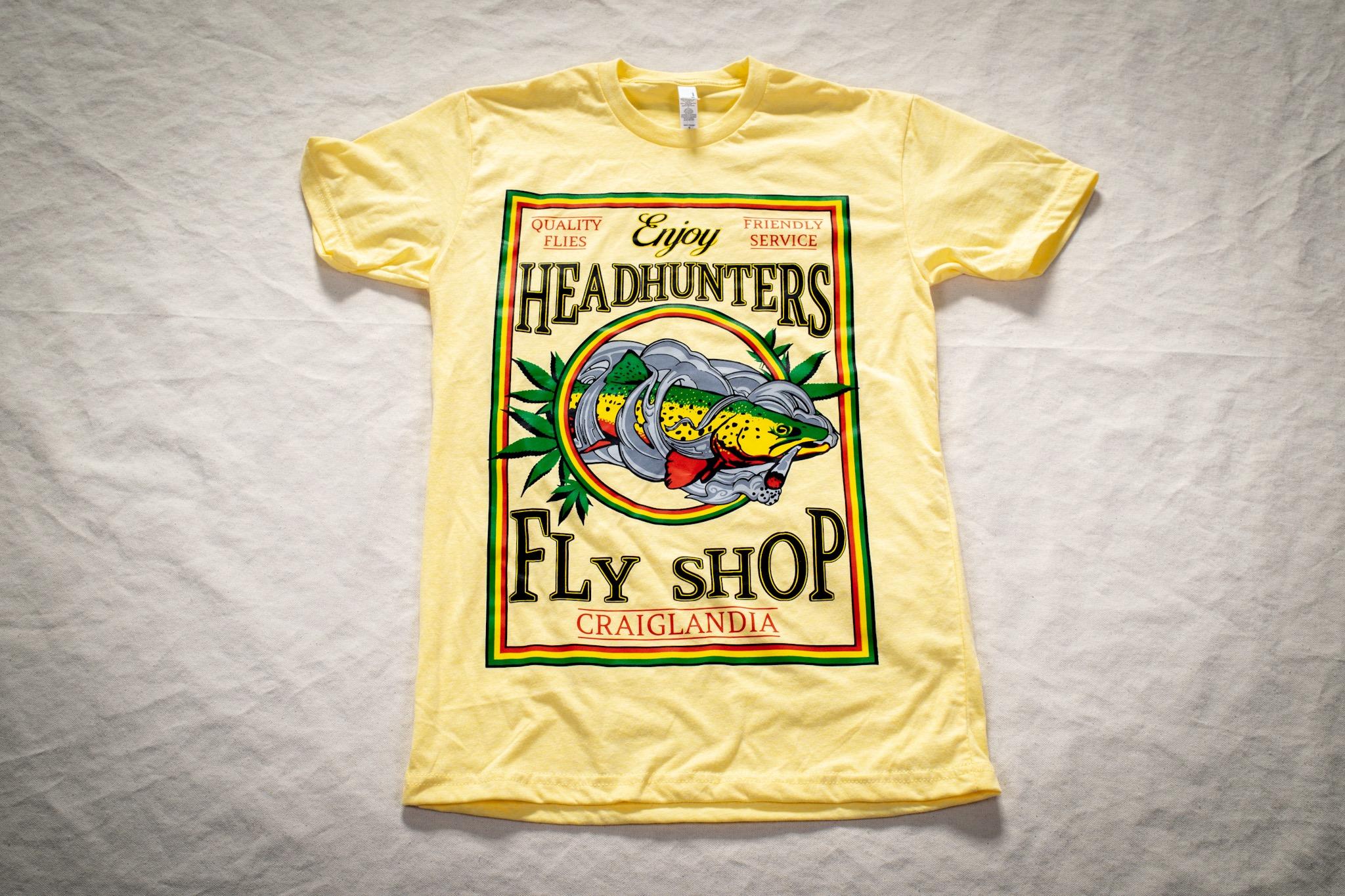 Headhunters Rasta T's, Truckers, and Stickers