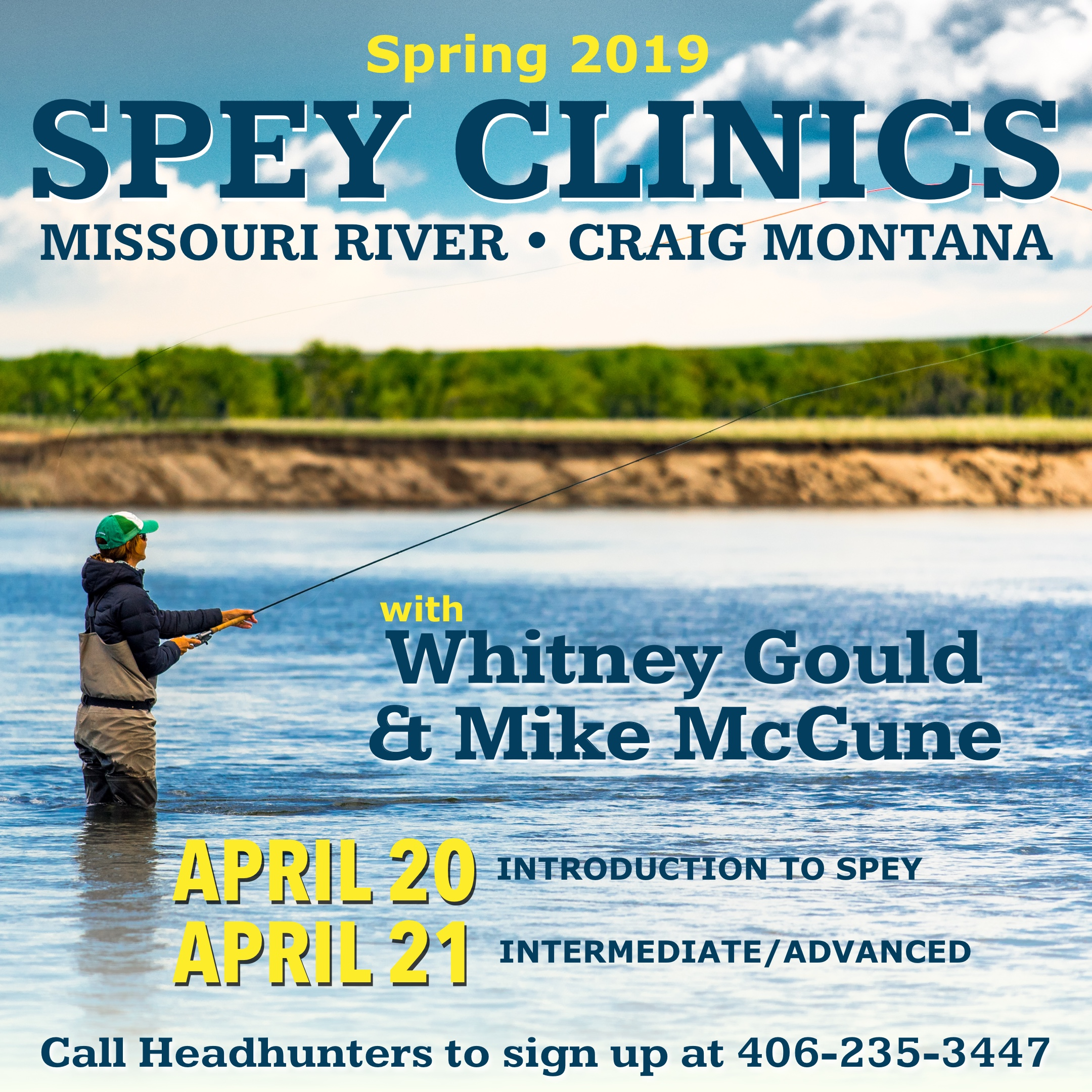 Gould McCune Spey Clinics Spring 2019