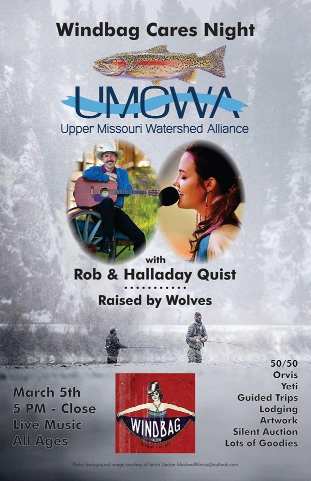 UMOWA Event Tuesday Nite Windbag Saloon Helena MT