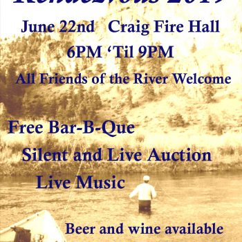 UMOWA Annual Rendezvous June 22nd in downtown Craig MT