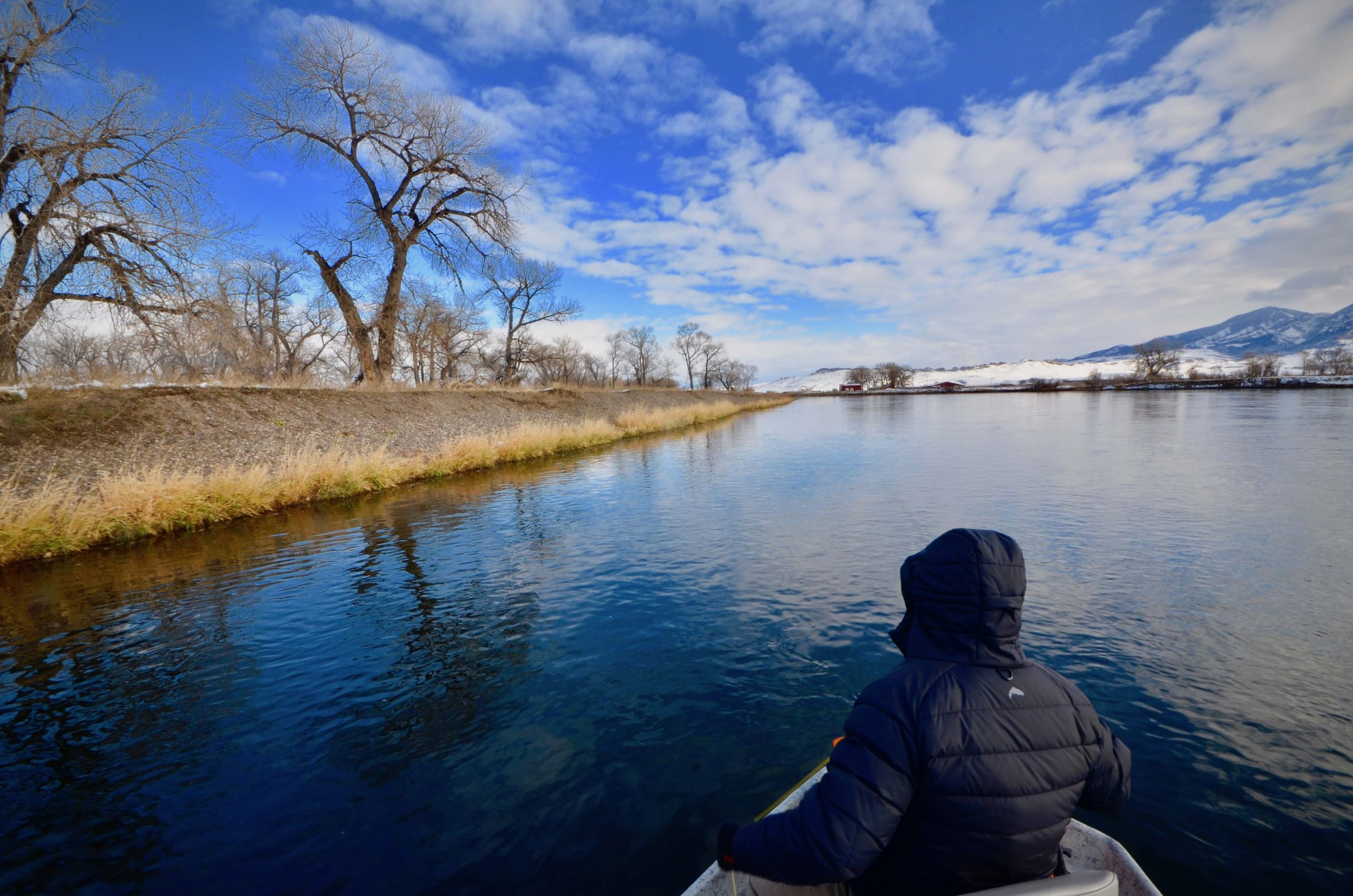 Monday Missouri River Fishing Report