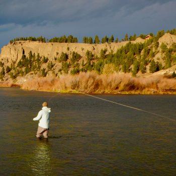 Wednesday Missouri River Fall Fishing Image
