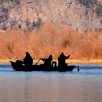 Late October Weekend Missouri River Fishing Report