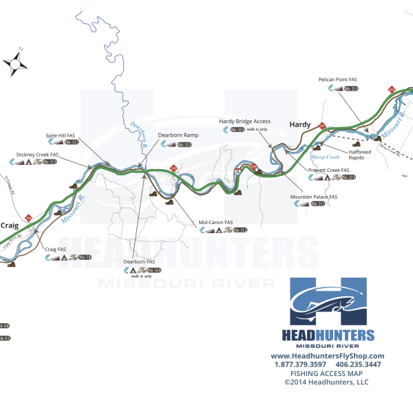 Missouri River Map
