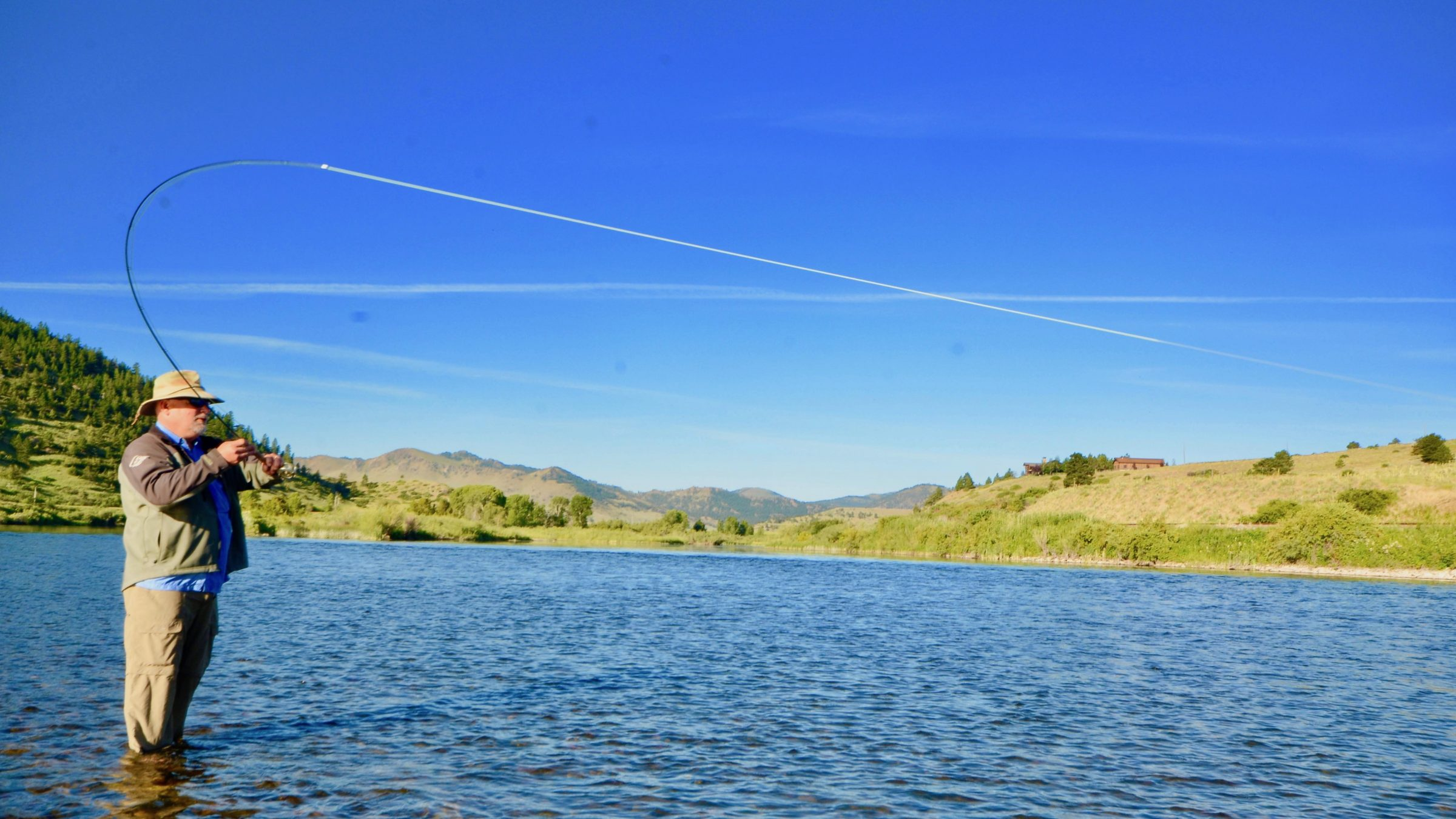 Friday Foto All Hooked Up on the Dry Fly