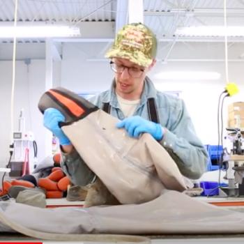SIMMS How to repair waders video