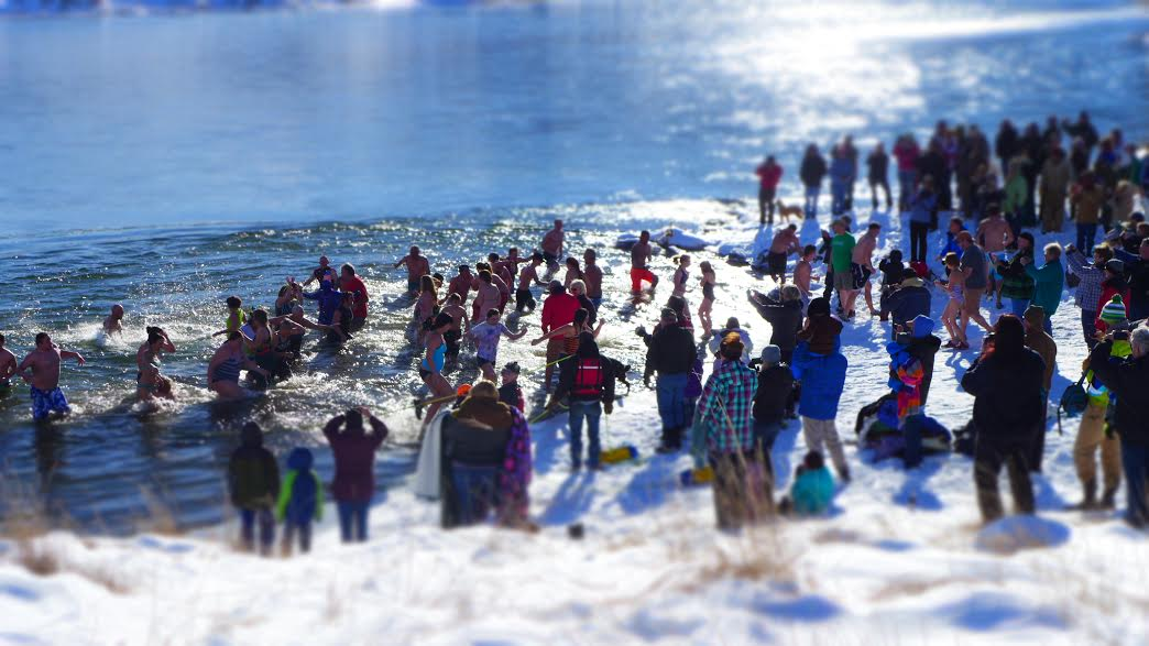 Polar Plunge Craig Montana High Noon New Year's Day 2021