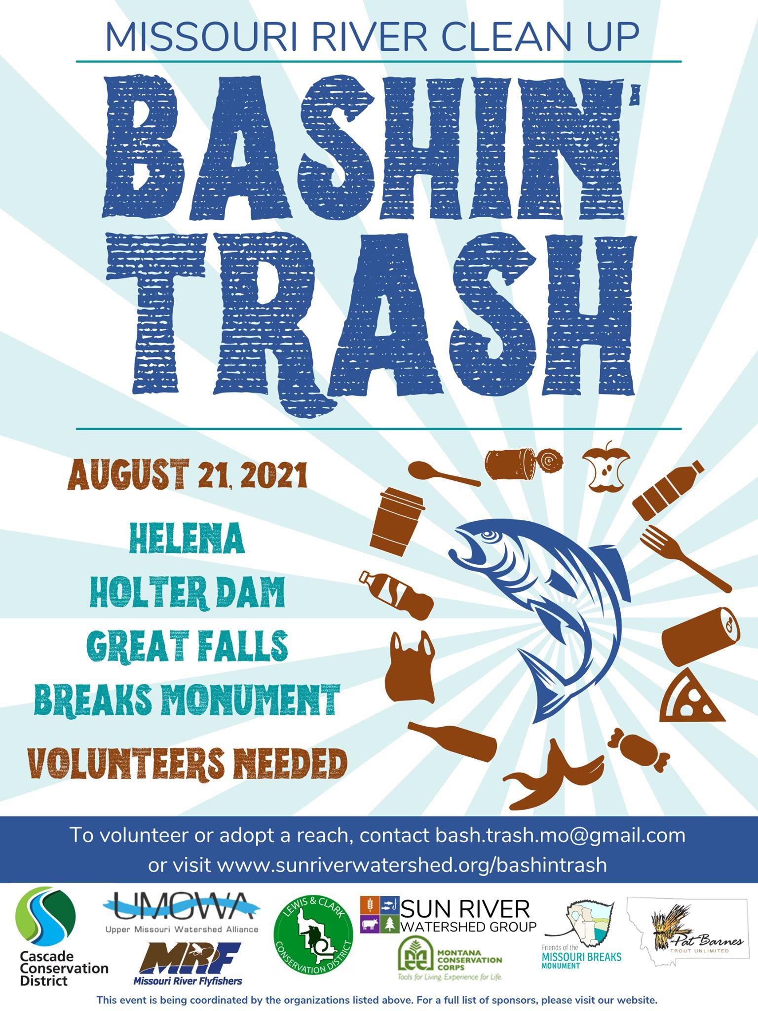 Bashin' Trash August 21, 2021